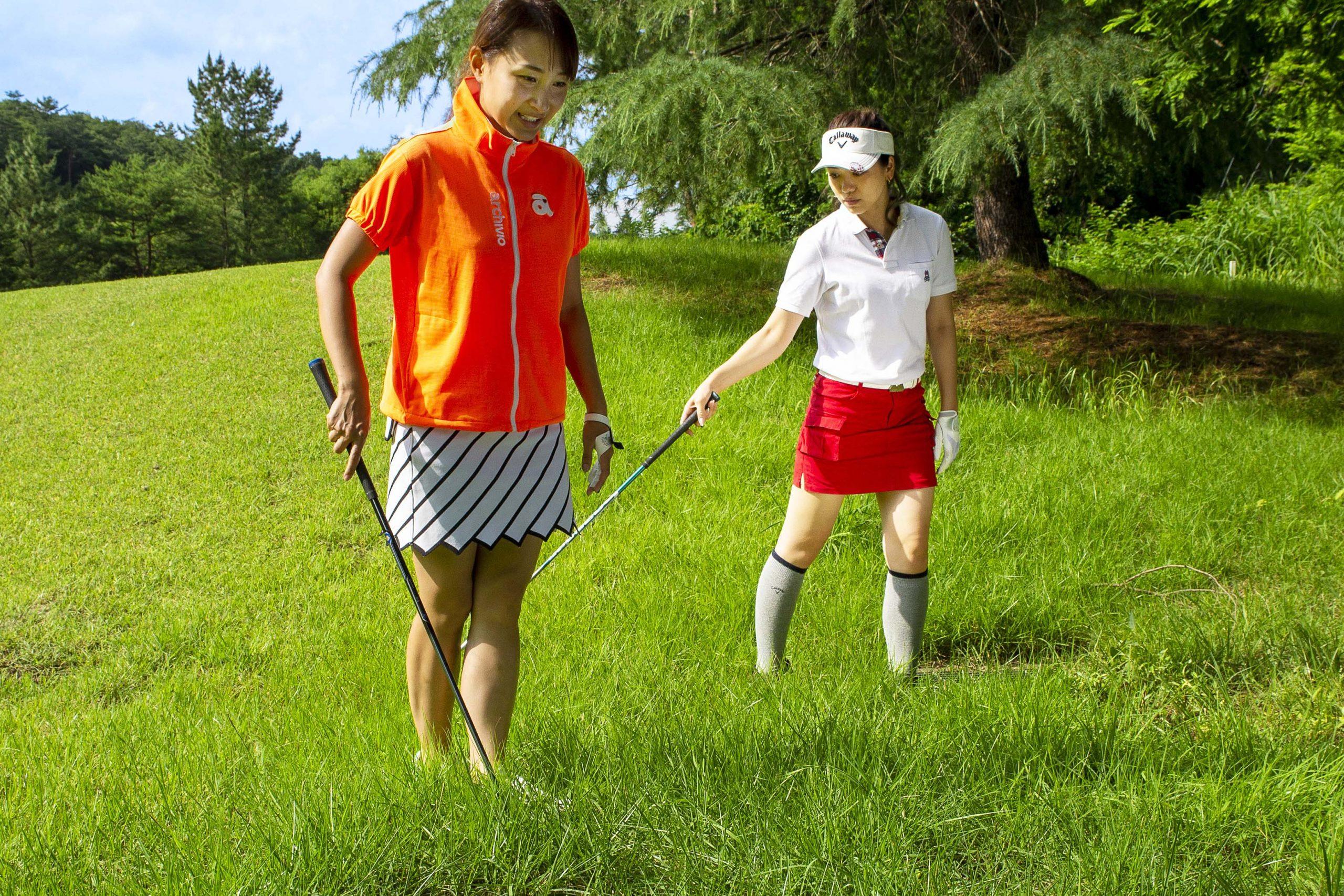 【ゴルルとルール】球を探しているときに同伴者がボールを蹴っちゃった! どうすればいいんだっけ?